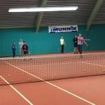 tennisles in de hal 2