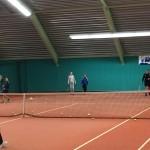 tennisles in de hal 3