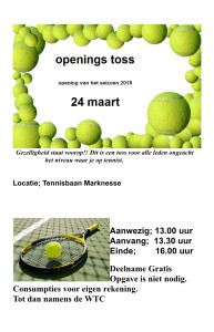 Openings Toss